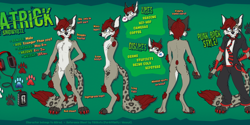 Patrick Reference Sheet (Commission)