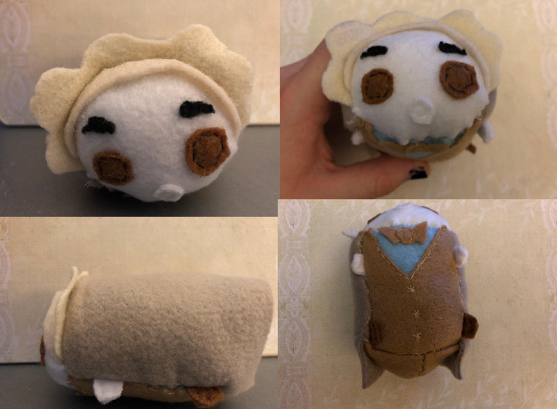 Good Omens Aziraphale stacking tsum plush For Sale