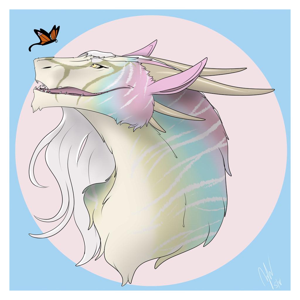 Opal Felkin Bust - Commission for JaycaTheBronze