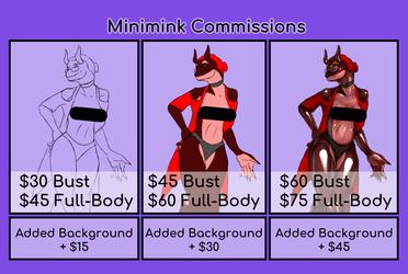 Minimink Commissions Open!