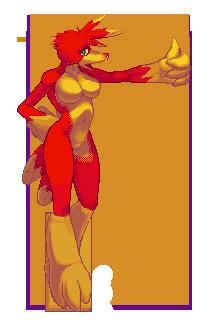 Kazooie Pixel Art