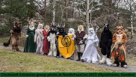 Clockwork Creatures Group Photo NFC2015