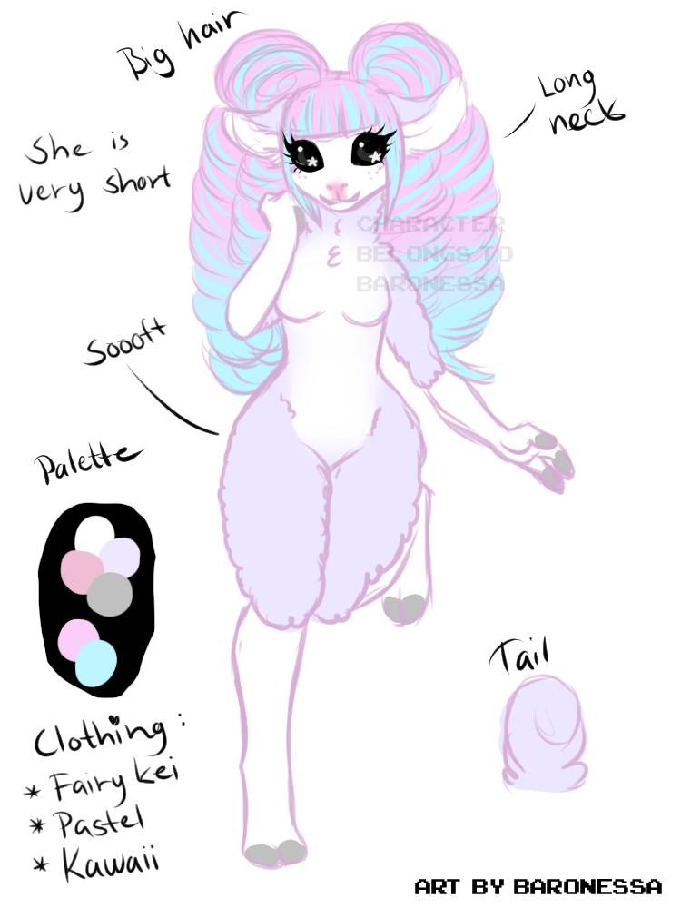New alpaca character ;u;