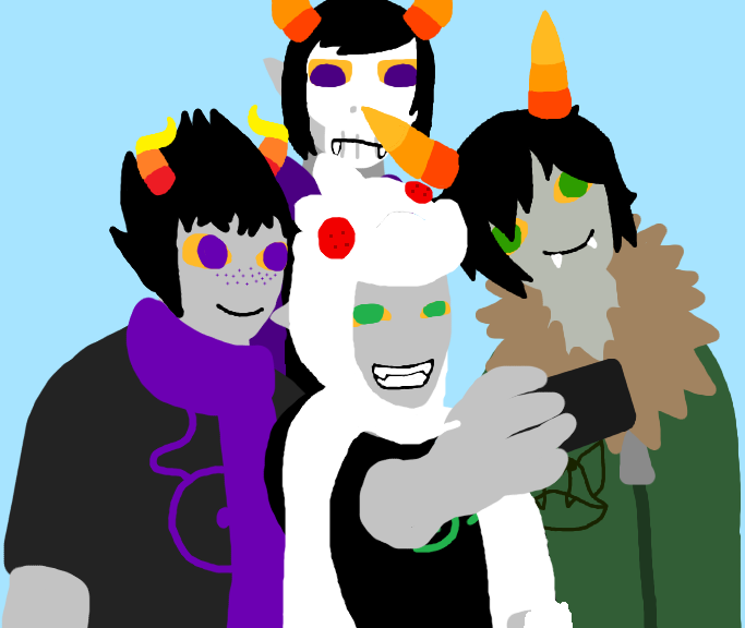 Most recent image: Group Selfie