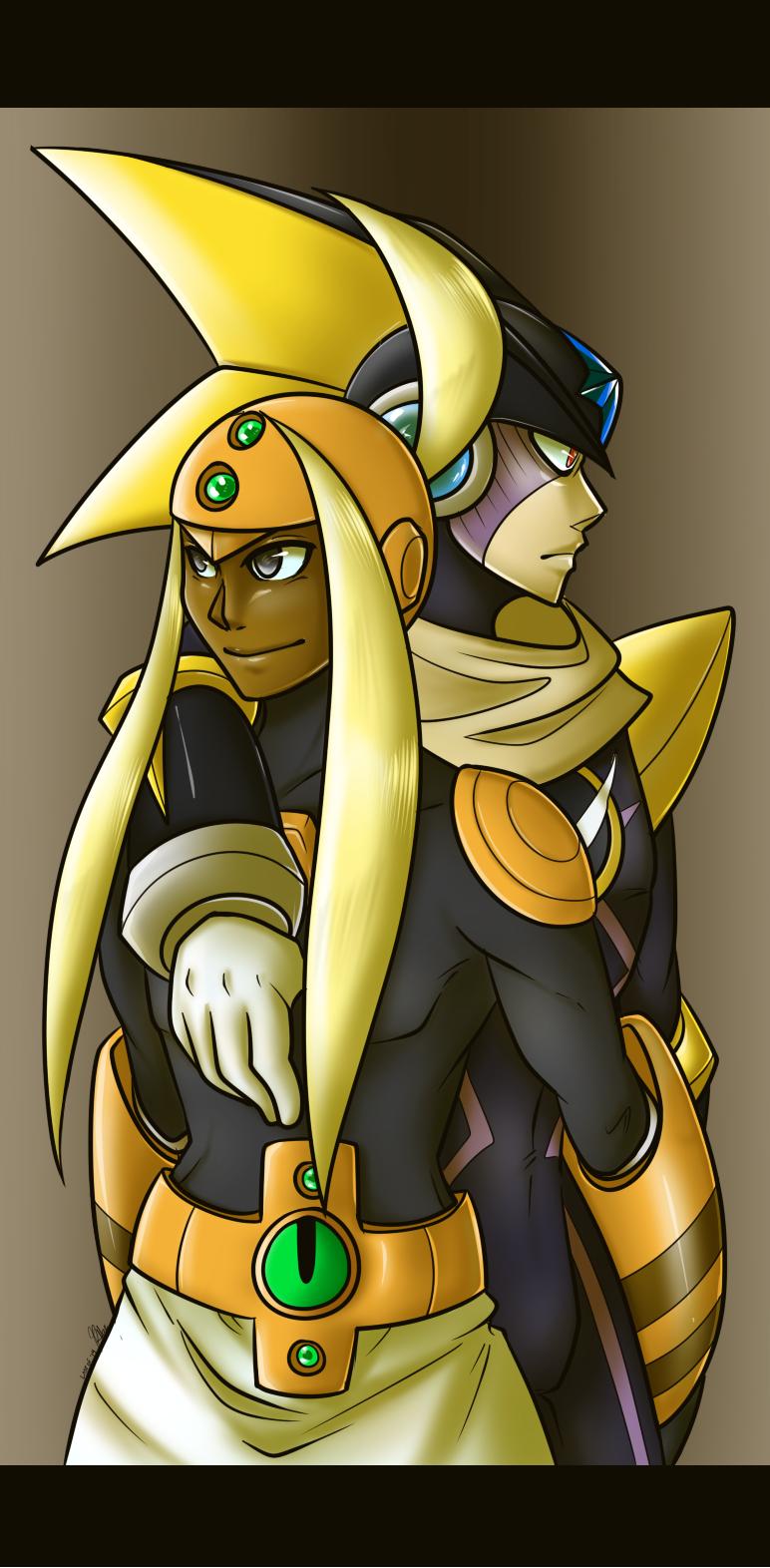 Banana Lord and Dork Fish