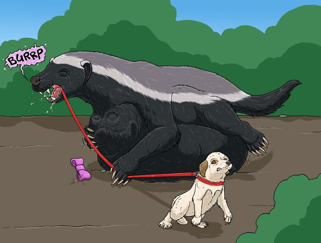 """Mdogo - the leash """"Bad end"""""""