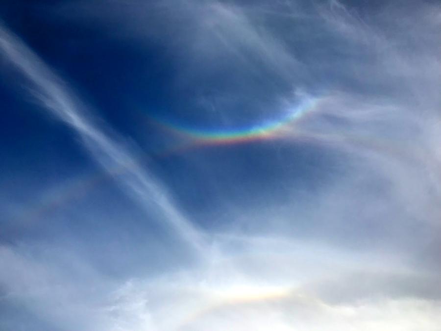 Rainbows within Rainbows