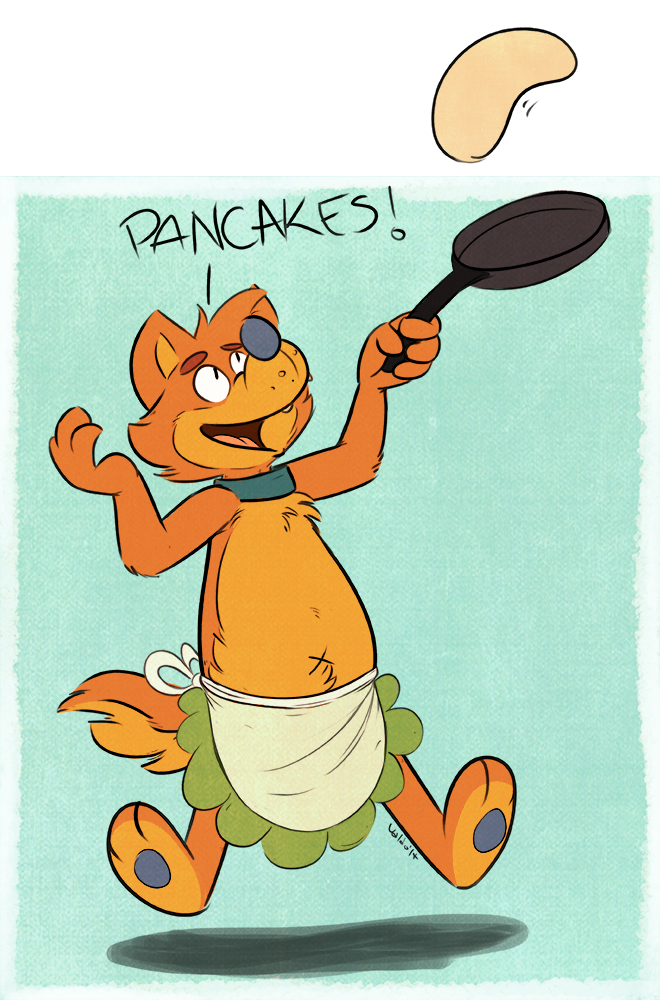 Most recent image: PANCAKES!
