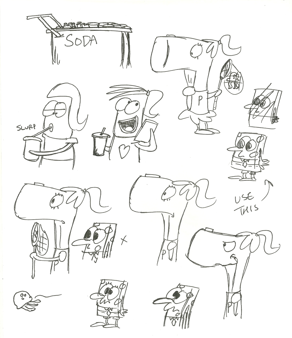 SpongeBob sketches