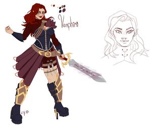 Venphira, the Red Demoness