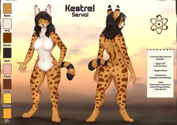 Kestrel reference sheet