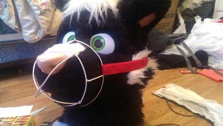 fursuit muzzle
