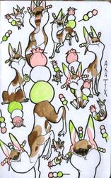 Dango Doodle Sheet