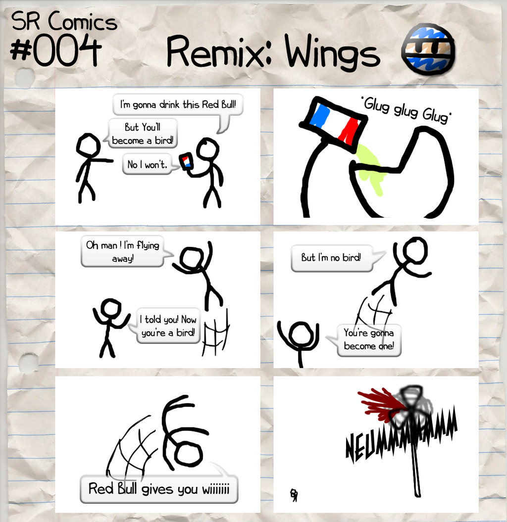 Featured image: SR Comics #004 HD Remix: Wings