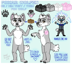 Foxar Wolfen Reference Sheet