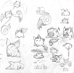 Tox and some other doodles