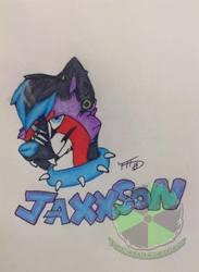 cute jaxxson badge
