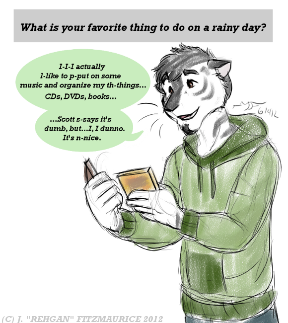 Ask and Draw: Rainy Day