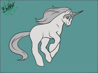Inktober day 5- Unicorn