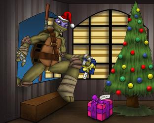 [FANART] Donatello's Christmas