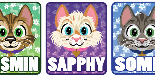 Kitty Pet Portraits
