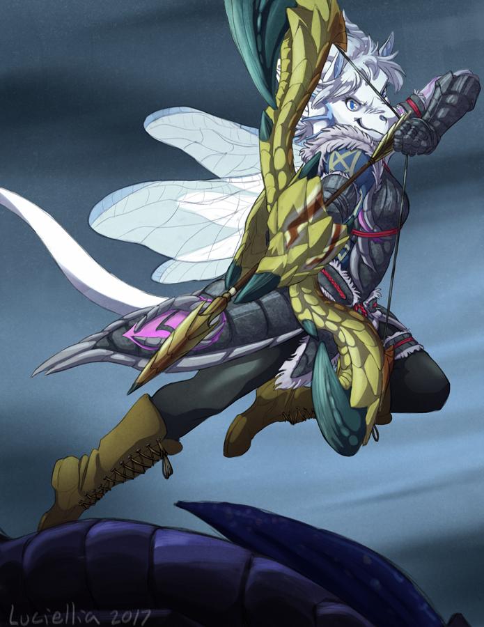 Commission: Hunter