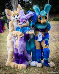 ConFurgence 2018: Fursuit Hugs
