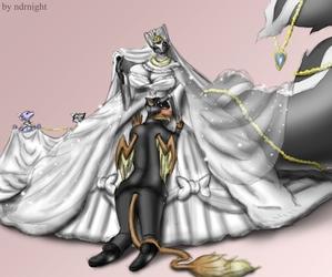 WHITE BRIDE TWILLIGHT