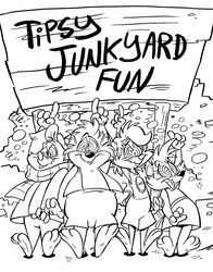 Tipsy Junkyard Fun - Cover