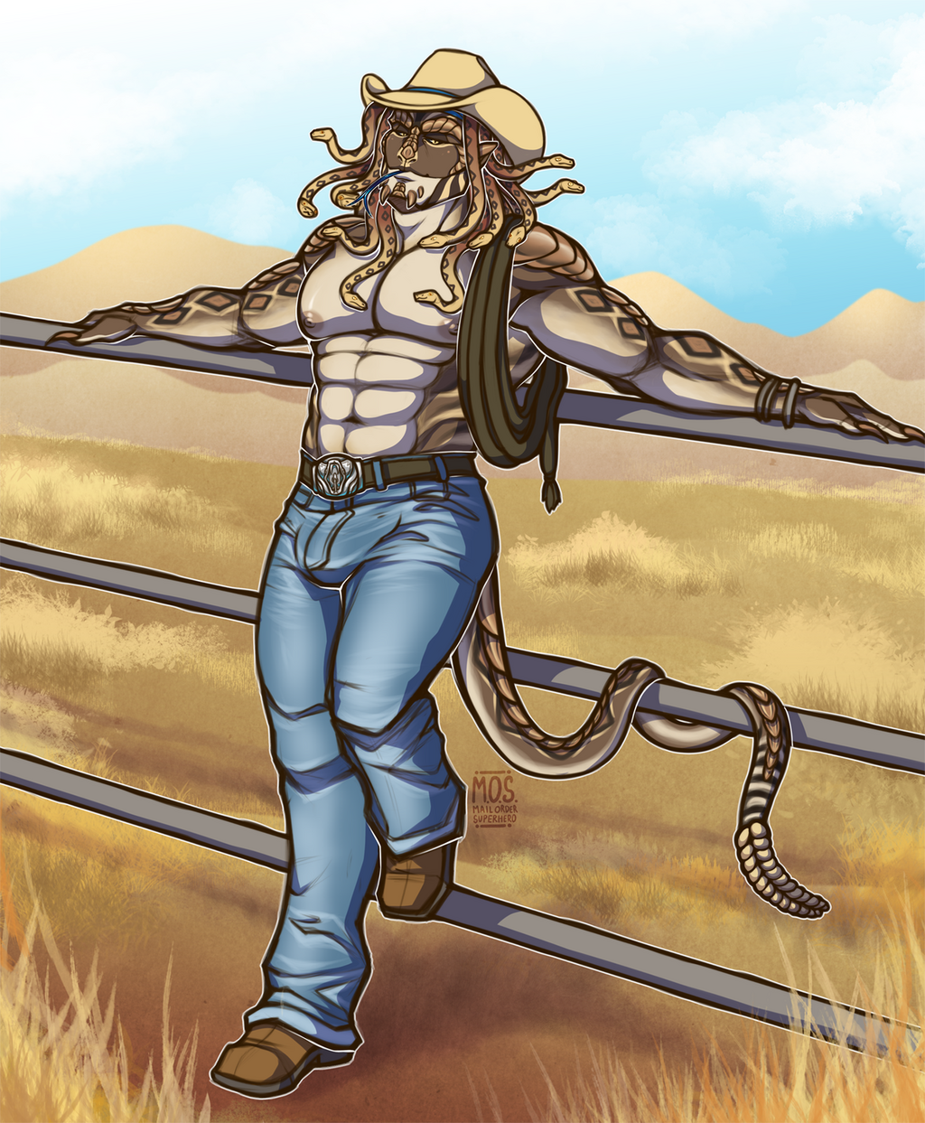 Most recent image: He didn't choose the cowboy life it chose him.