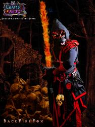 BackfireFox Sword Ready By CraftyAndy