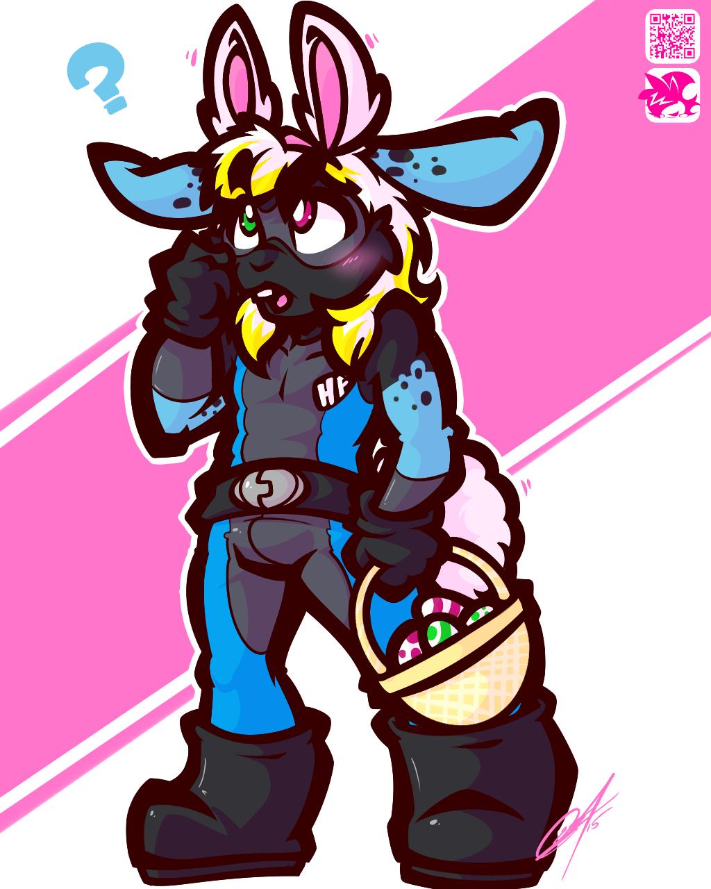 Hey wait, i'm already a bunny