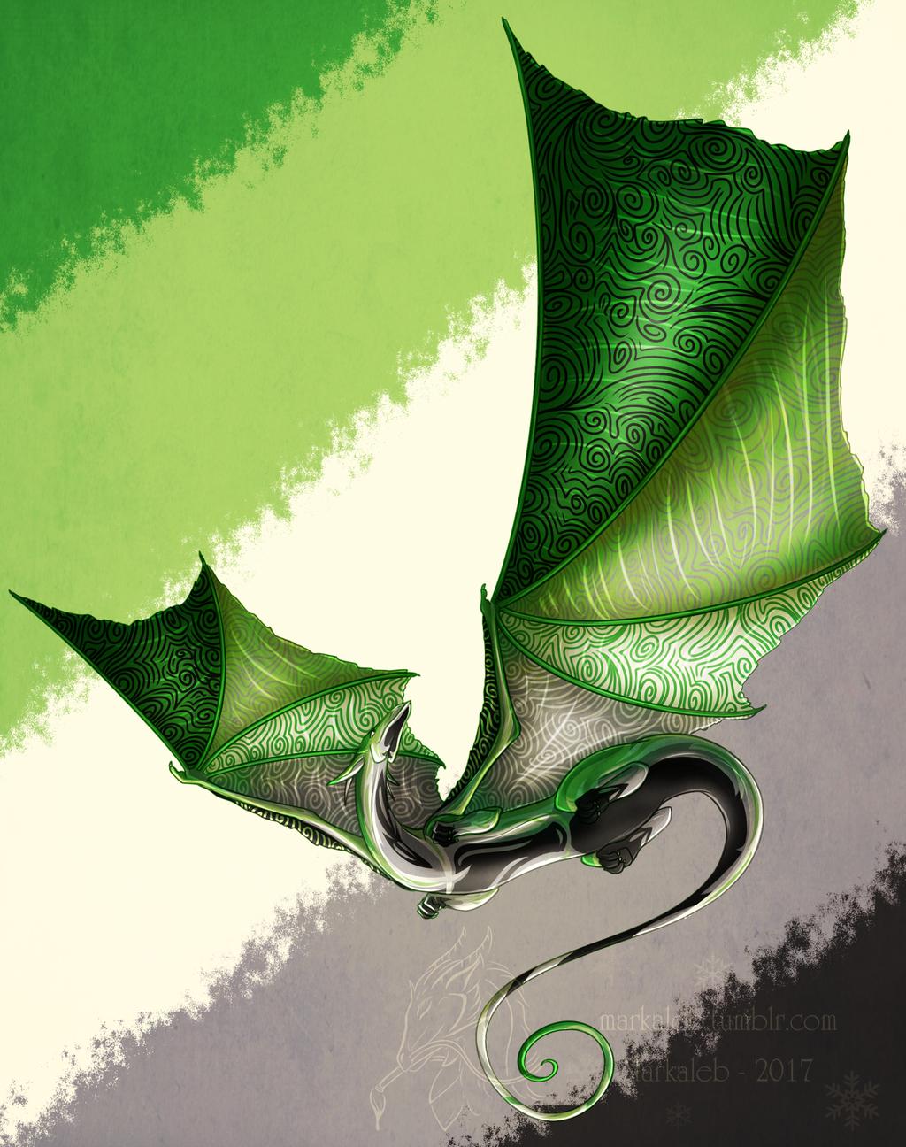 Aro Pride Dragon