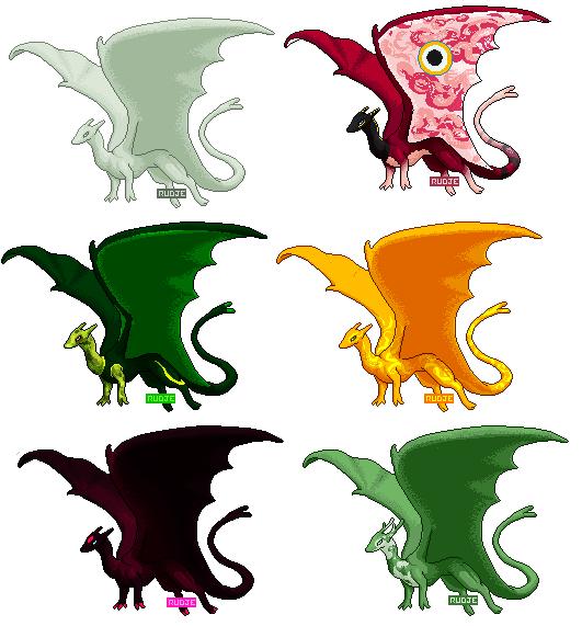 Pernese Dragon Pixels