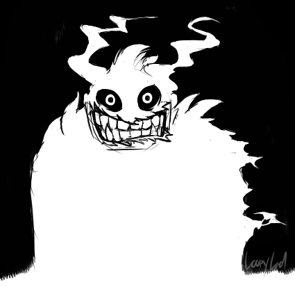 Most recent image: Ghost Doodle