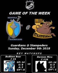 FHL Season 7 GOTW #7: Guardians @ Stampeders