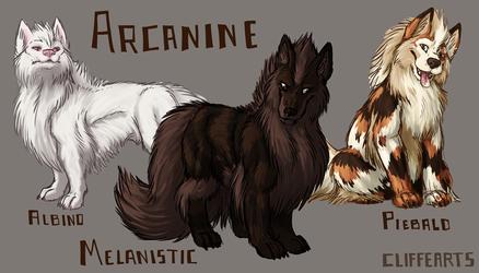 Arcanine Variants
