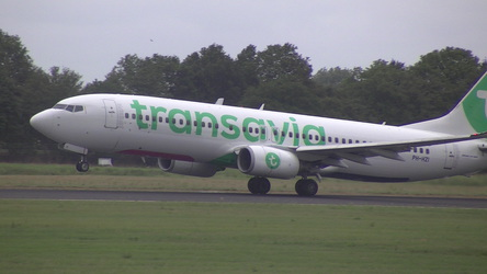 Transavia taking off