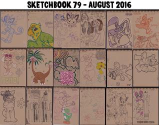 Sketchbook 79 - August