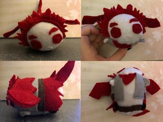 My Hero Academia Dragon Kirishima Fantasy Au Stacking Plush made for myself