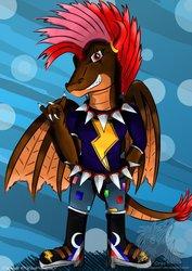 [Old Art Trade] Rock N' Roll Dragon ...