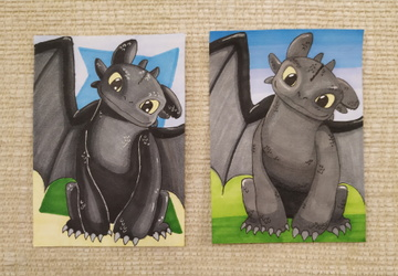 Toothless ACEO