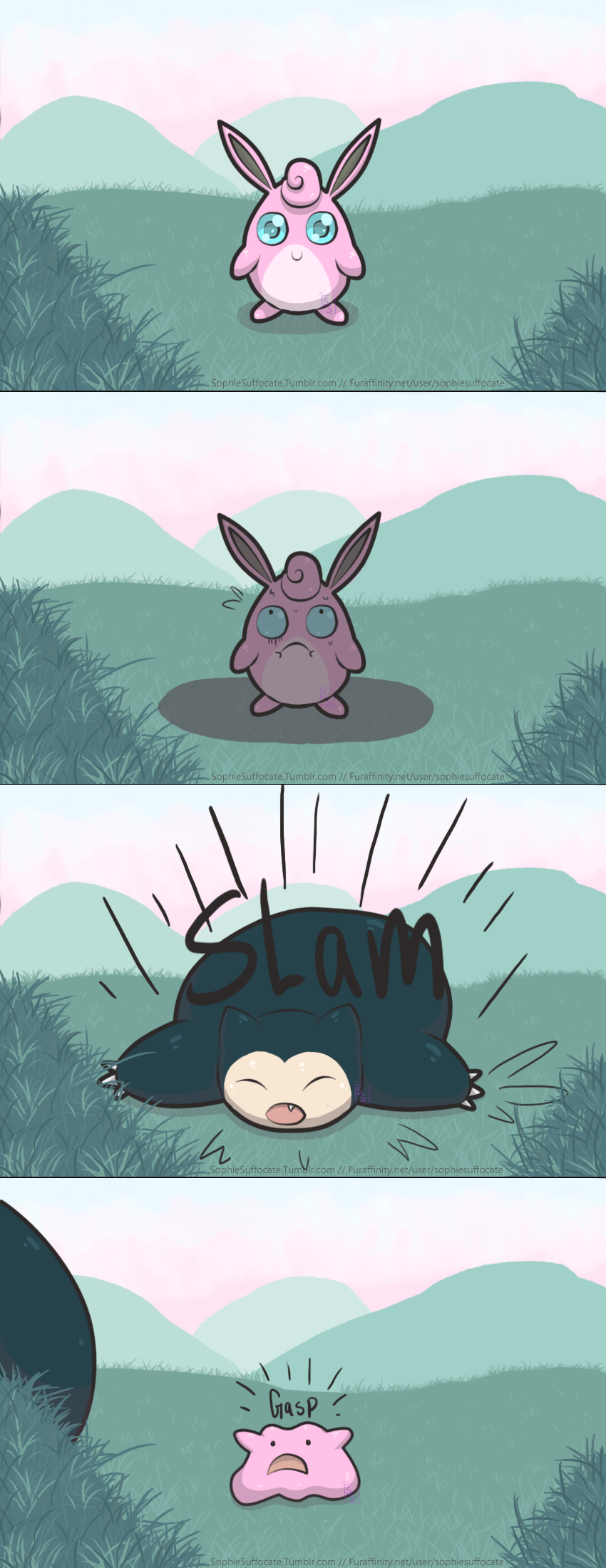 How Dittos are born~ Comic