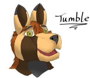 Tumble bust