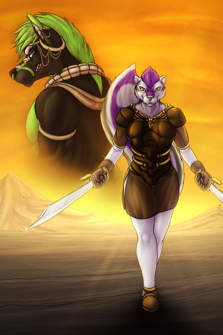 Iron Artist: Day 85 - Invypanther Good vs. Evil