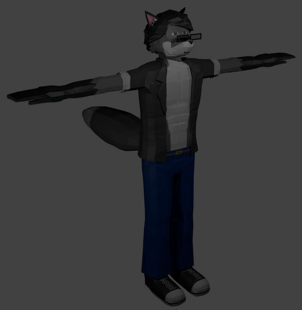 Most recent image: Shadesfox in 3D!!!!