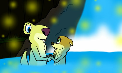 AT: Sloth & Weasel Romance