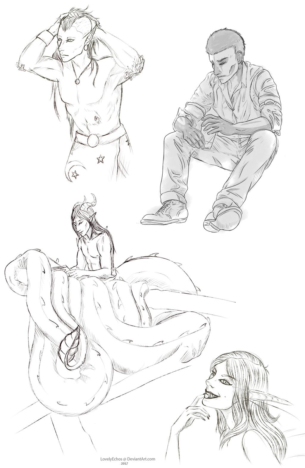 Hans Sketch Commission