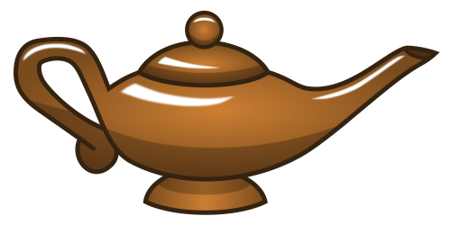 Old Magic Lamp Weasyl
