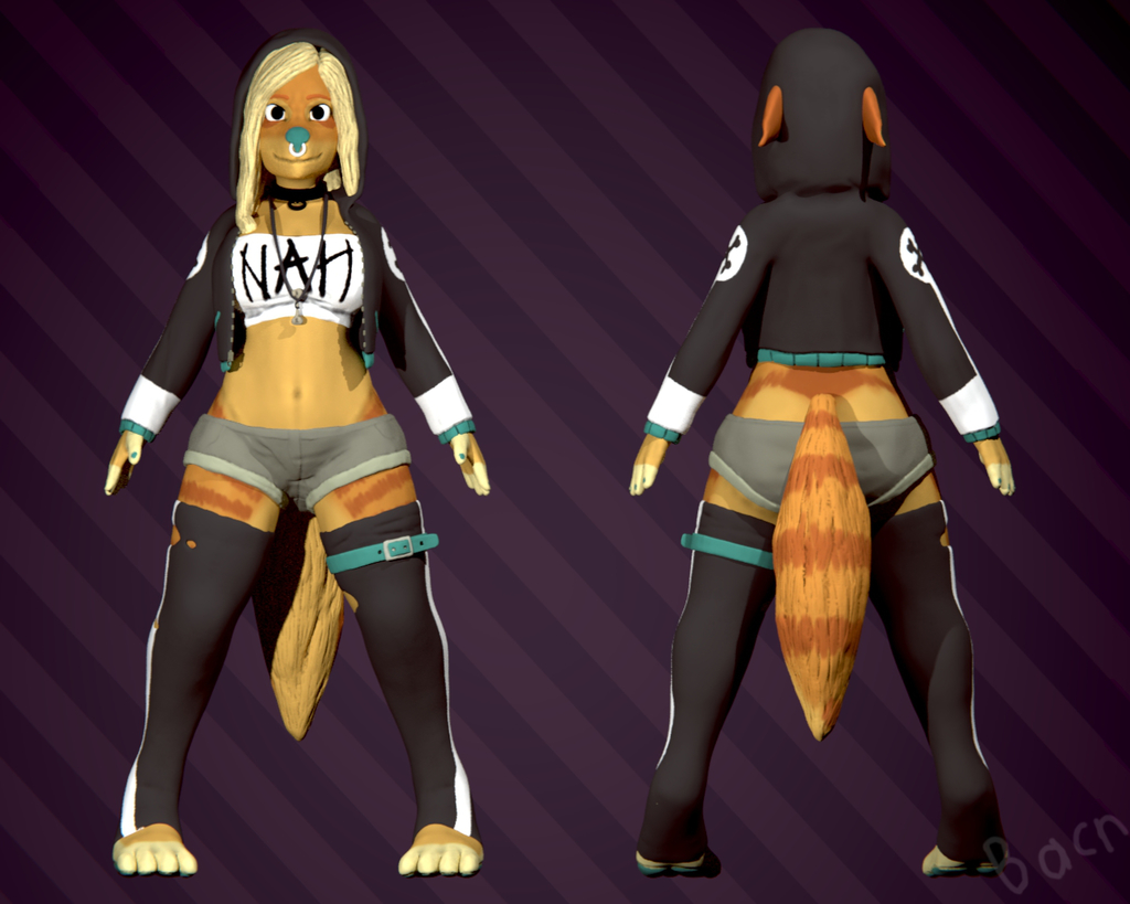 Most recent image: Hensa Sculpt, Now With Clothes!